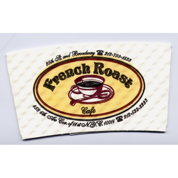 Coffee Sleeve - White Paper (Large Quantity)