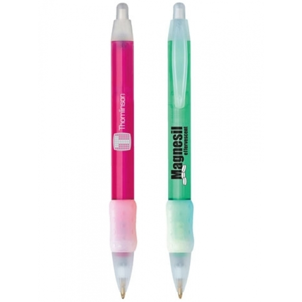 CSWBIG - BIC WideBody Clear with Ice Grip Pen