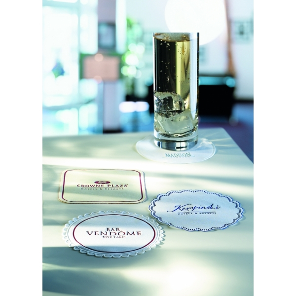 9-ply Cellulose Coasters - 4.25 inch
