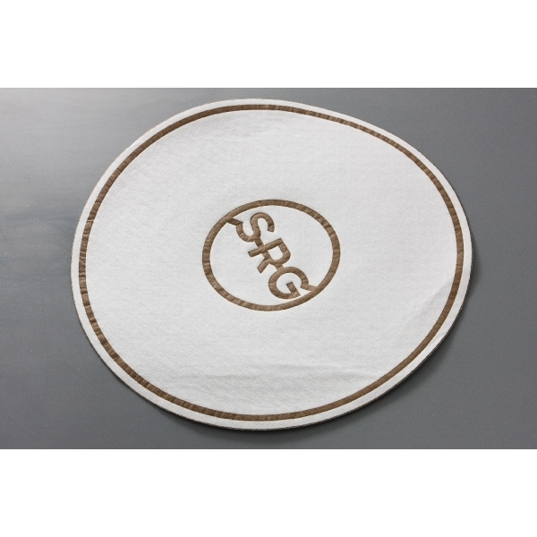 85mm Airlaid Coasters (with wax)